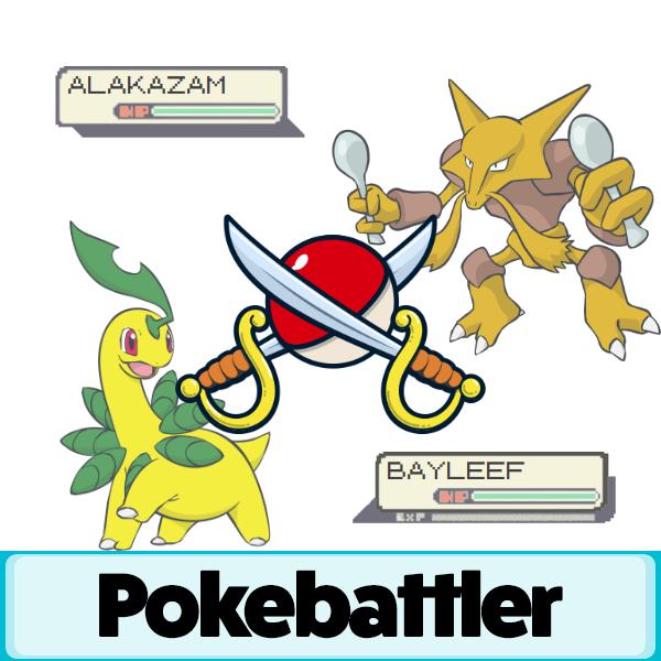 bayleef vs alakazam battle simulation pokemon go pokebattler