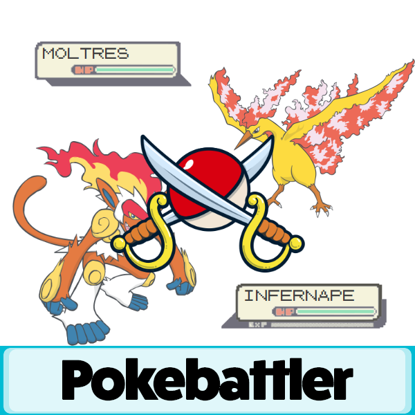 infernape vs moltres battle simulation pokemon go pokebattler