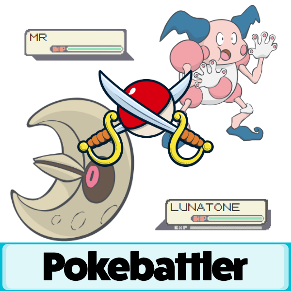 lunatone vs mr mime battle simulation pokemon go pokebattler